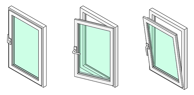 Example of a Tilt and Turn Window