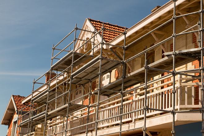 Approved Building Regulations means you can commence work on your house extension