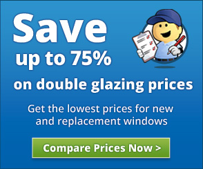 Get the lowest price on double glazed window costs