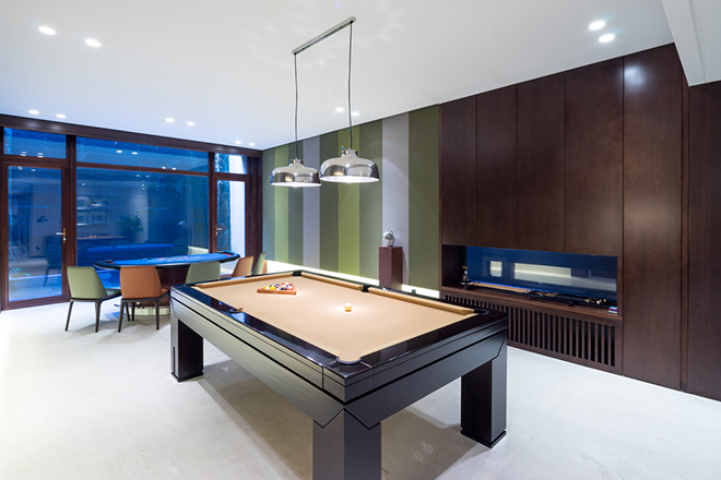 How much does a garage conversion cost house extension - How much room do i need for a pool table ...