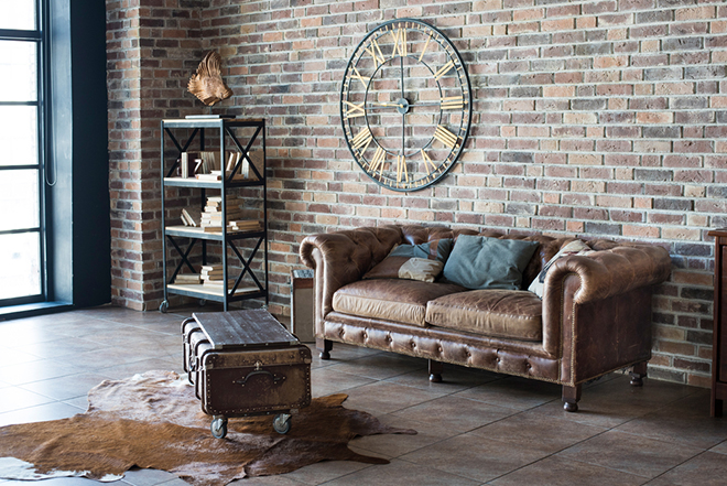 Natalia 3 Seater Leather Sofa
