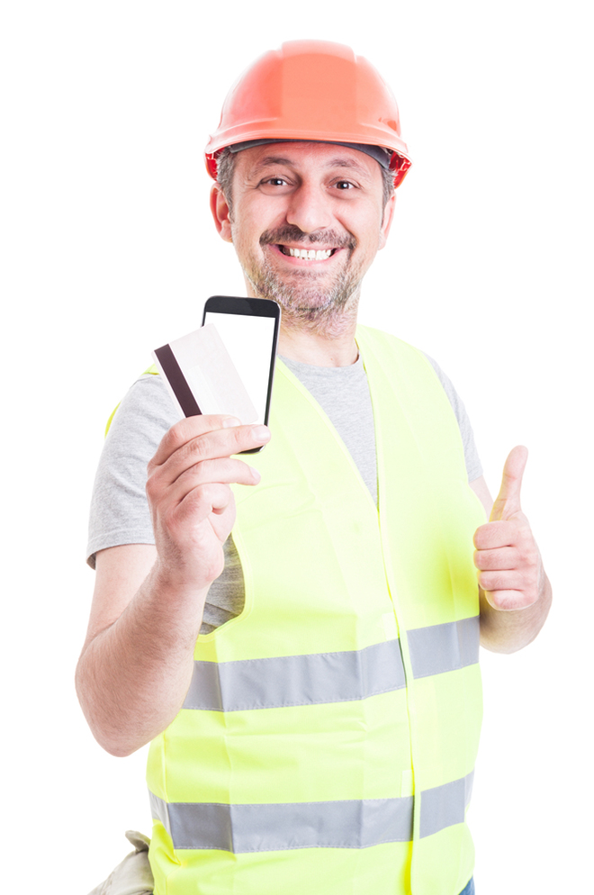 builder with cscs card