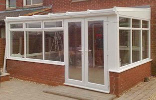upvc lean to conservatory