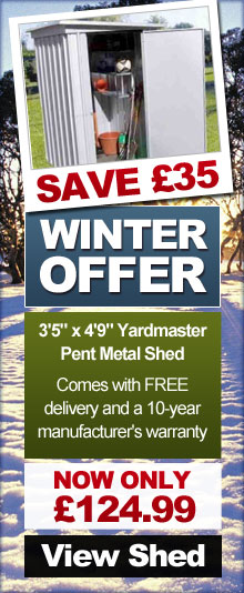 Sheds.co.uk Winter Offer