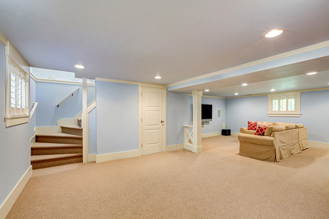 How to Turn Your Basement into a Spare Bedroom