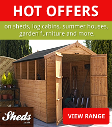 Hot Offers from Sheds.co.uk