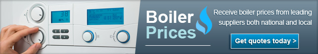 Find out the cost of a new boiler
