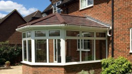conservatory with insulated roof