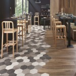 Wood and tile floor trend