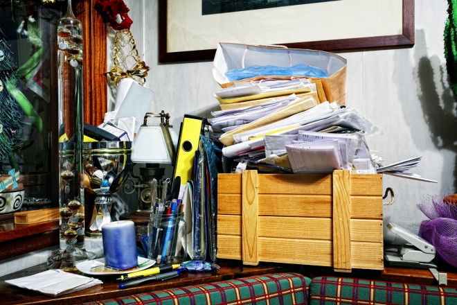 Christmas Clutter: Getting your home back to normal
