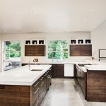 Two tone kitchens