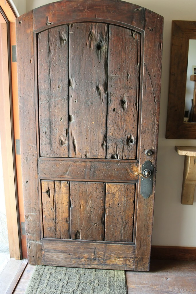 Old style traditional door